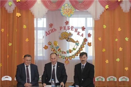 Министр Сергей Димитриев возглавил информгруппу в Козловском районе республики
