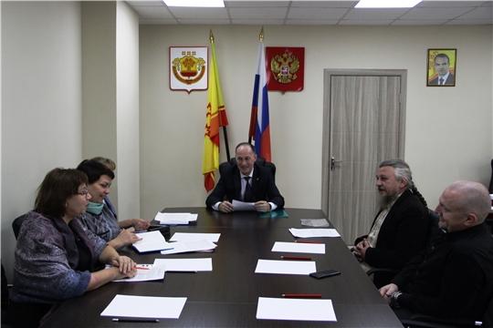 Состоялась встреча по вопросу организации и условий деятельности «Центра помощи населению «Дом Милосердия»
