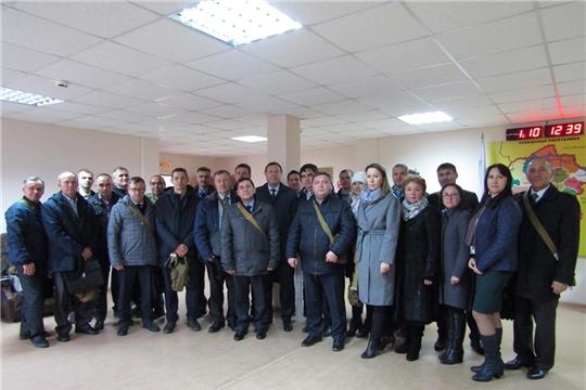 Минюст Чувашии – участники Всероссийской штабной тренировки по гражданской обороне