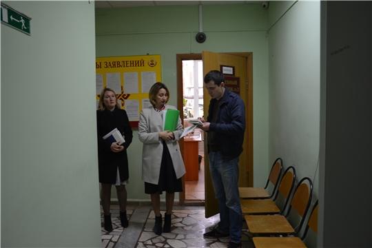 Визит на судебные участки мировых судей Чебоксарского района