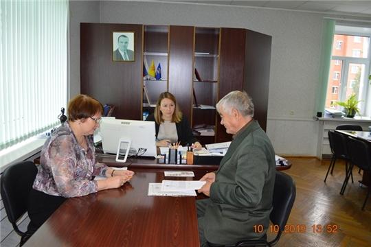 Юристы – населению: в Минюсте Чувашии прошел приём граждан