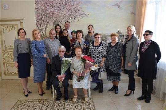 Крепкая семья – главная ценность: в Московском районе г. Чебоксары чествовали супругов Никифоровых