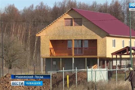 Многодетные семьи из Новочебоксарска обустраиваются на земельных участках Мариинского Посада