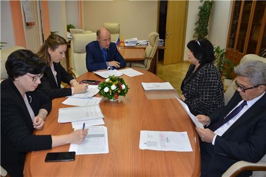 В Минюсте Чувашии обсуждены вопросы формирования и предоставления земельных участков многодетным семьям г.Шумерля