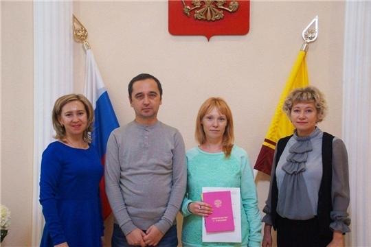 В Калининском районе г. Чебоксары зарегистрирован 2000-й новорожденный 2019 года