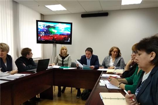 В Минюсте Чувашии состоялось совещание с начальниками отделов ЗАГС республики