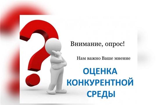 Приглашаем принять участие в анкетировании по изучению состояния и развития конкурентной среды в Чувашской Республике