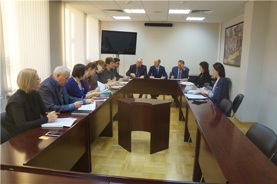 В Минюсте Чувашии состоялось заседание конкурсной комиссии по проведению конкурса среди независимых экспертов по проведению независимой антикоррупционной экспертизы НПА