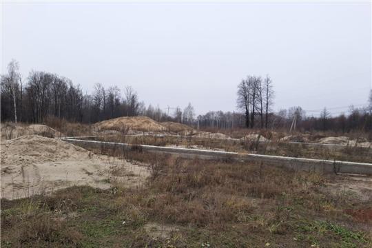 Осмотр освоения земельного участка, переведенного из одной категории в другую в ядринском районе