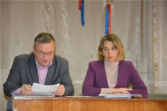 В рамках Единого информдня в Аликовском районе состоялось расширенное заседание Комиссии по профилактике правонарушений