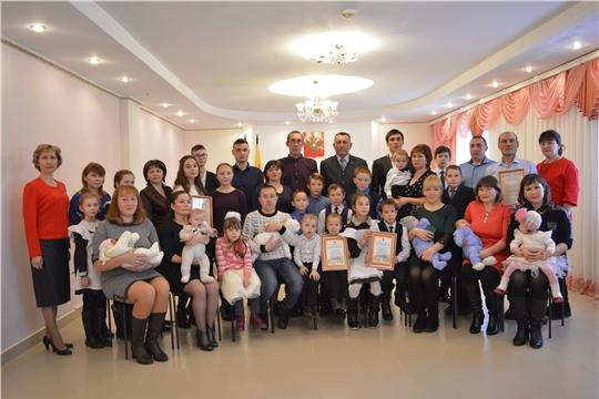 В отделе ЗАГС администрации Яльчикского района прошло мероприятие, посвященное Дню матери