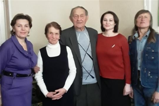 В Калининском сельском поселении Вурнарского района состоялось чествование супругов - юбиляров семейной жизни