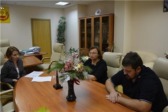 В День Конституции России в Минюсте Чувашии прошел прием граждан по личным вопросам