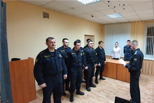 Минюстом Чувашии проводятся работы по обеспечению безопасности судебной деятельности