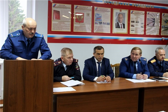 Состоялось Координационное совещание правоохранительных органов по профилактике тяжких и особо тяжких преступлений