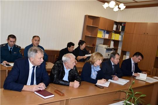 В Моргаушском районе начались мероприятия в рамках штабной тренировки по ГО