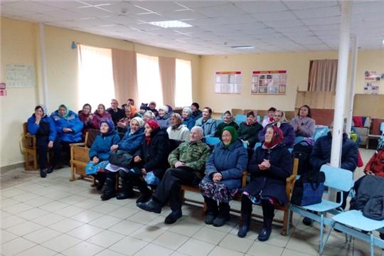 «Люди пожилые – сердцем молодые» праздничный концерт в Кадикасах