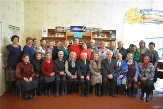 Торжественное мероприятие «Пусть осень жизни будет золотой» с ветеранами отрасли культуры Моргаушского района