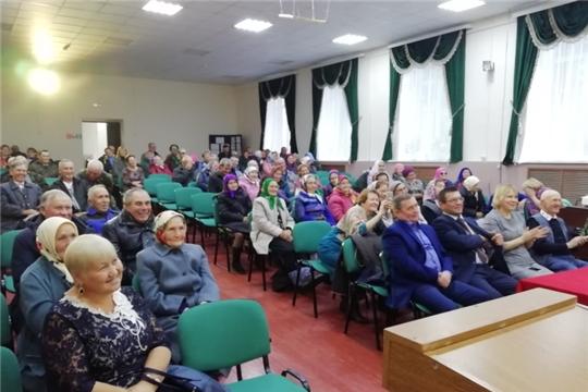 Международный день пожилых в Юськасинском сельском поселении