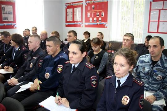 Полицейские Моргаушского района подвели итоги 9 месяцев текущего 2019 года