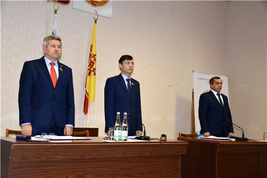 Состоялось 41-ое очередное заседание Моргаушского районного Собрания депутатов