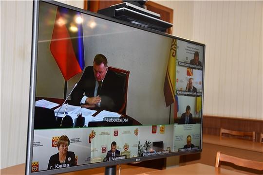 Состоялось заседание координирующего органа (штаба) народных дружин в Чувашской Республике