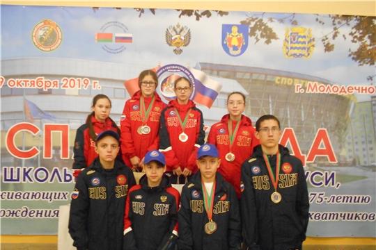 В г. Молодечно Республики Беларусь  проходили соревнования по плаванию в рамках Спартакиады Союзного государства для детей и юношества