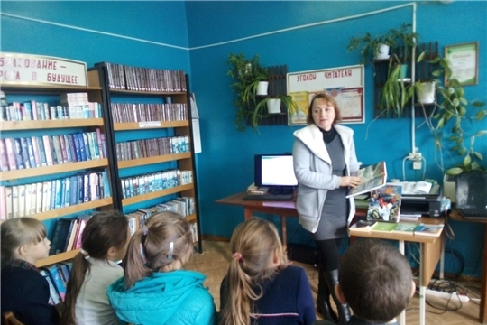 В читальном зале Юнгинской библиотеки совместно с сельским Домом культуры  провели час  здоровья