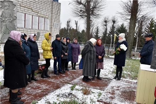 В Моргаушском районе состоялся День  памяти жертв политических репрессий