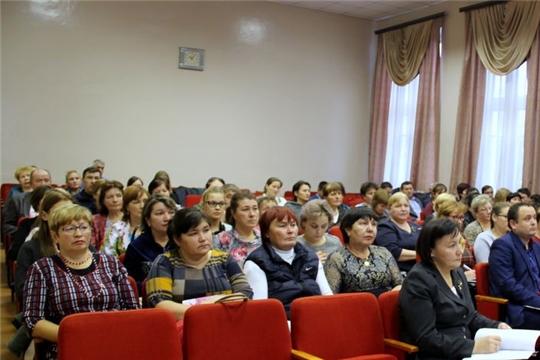 Работники культуры Моргаушского района подвели итоги 9 месяцев текущего года