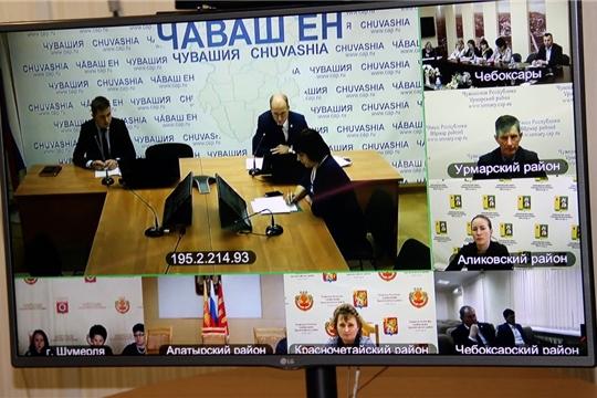 На видеоконференции обсудили вопрос участия  в 2020 году в региональном этапе Всероссийского конкурса «Лучшая муниципальная практика»