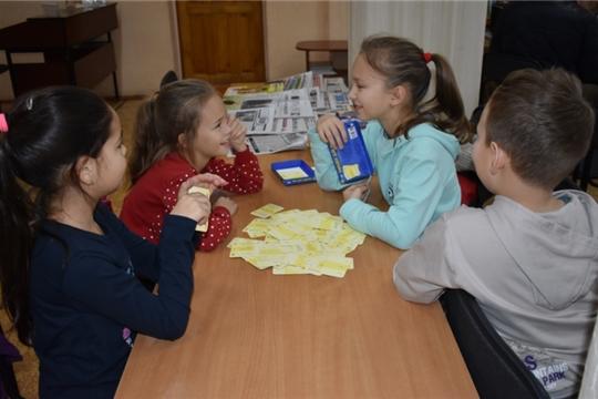 Творческая игротека «Осенние каникулы с пользой» в библиотеках района