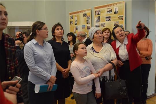 К 75-летию образования Моргаушского района открылась выставка «Живая связь времен»