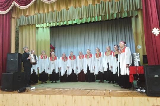 Народный хор ветеранов «Орин ен» с очередным концертом в Мадикском сельском клубе
