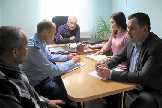 Состоялся прием граждан по вопросам   соблюдения   законодательства в сфере ЖКХ