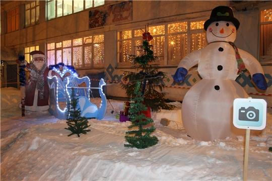 Конкурс на лучшее новогоднее оформление территории Моргаушского района