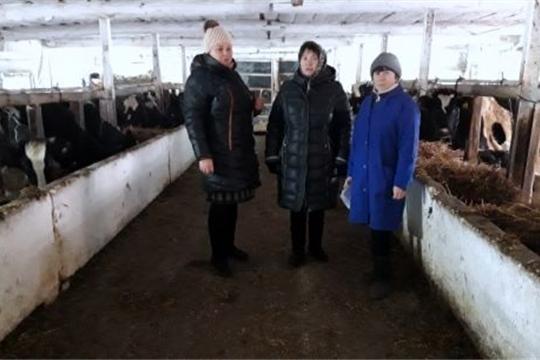 Ознакомились с ходом зимовки общественного скота
