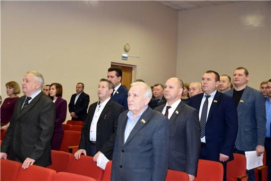 Состоялось 42-ое внеочередное заседание Моргаушского районного Собрания депутатов