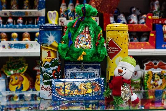 Выбор сладких новогодних подарков