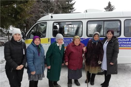 Состоялся первый выезд мобильной бригады по доставке лиц старше 65 лет в медицинское учреждение