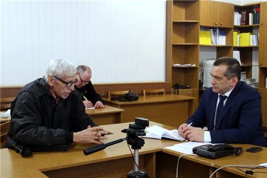 В Моргаушском районе продолжается Общероссийский день приёма граждан