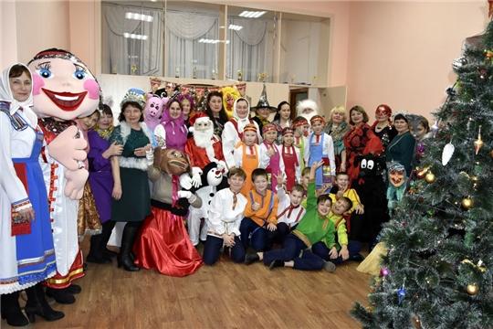 Марафон «Новогодняя Республика» - в Моргаушском районе