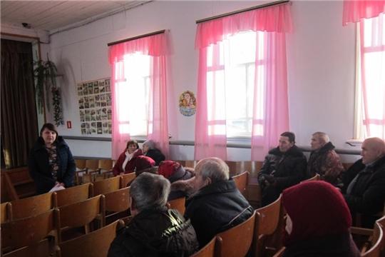 Встреча с жителями  д.Молгачкасы  Орининского  сельского поселения