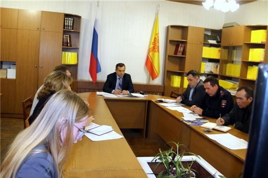 Состоялось заседание комиссии по обеспечению безопасности дорожного движения в Моргаушском районе