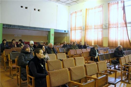 В Моргаушском районе прошел Единый информационный день:  «все, что делается, делается для людей»