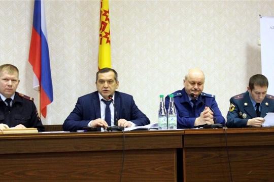 Состоялось заседание Межведомственной комиссии по профилактике правонарушений при администрации Моргаушского района