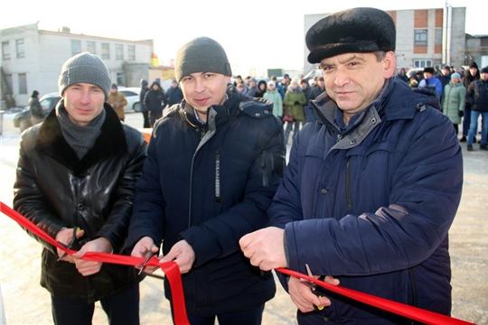 В преддверии нового года в Моргаушах открылась новая автогазозаправка: «мечты, действительно, сбываются»