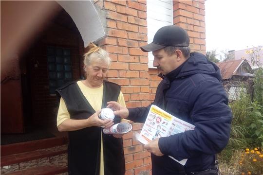 С жителями частного сектора проведена беседа о соблюдении правил пожарной безопасности