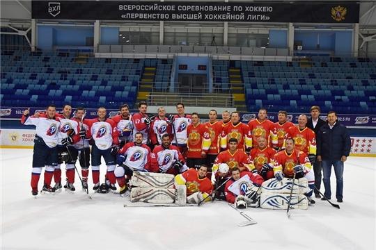 Сотрудники АО «ЧПО им. В.И. Чапаева» вошли в состав хоккейной команды ВФСО «Трудовые резервы»