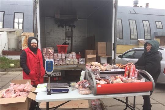 «Дары осени»: свыше 14 тонн картофеля и 8 тонн овощей приобрели жители Московского района г. Чебоксары